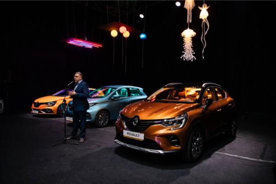 Renault представи новите CLIO, ZOE, CAPTUR и MEGANE R.S. Trophy на ексклузивно предпремиерно събитие