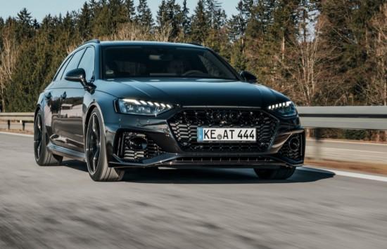 ABT даде 530 конски сили и нова аеродинамика на Audi RS4