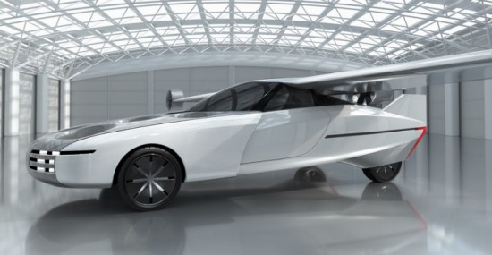 В Израел представиха концепт на летящ автомобил - видео
