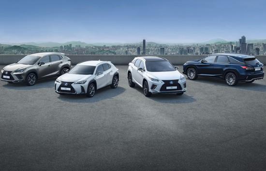 LEXUS с 250 000 хибридни SUV-та в Европа