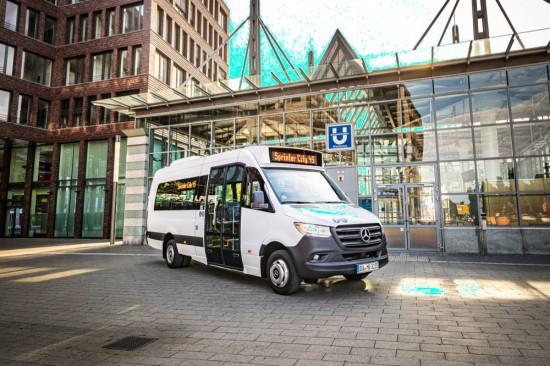 """Нови автобуси на Mercedes в """"midi"""" формат"""