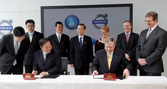 Volvo Cars отбелязва 10 години в семейството на Geely