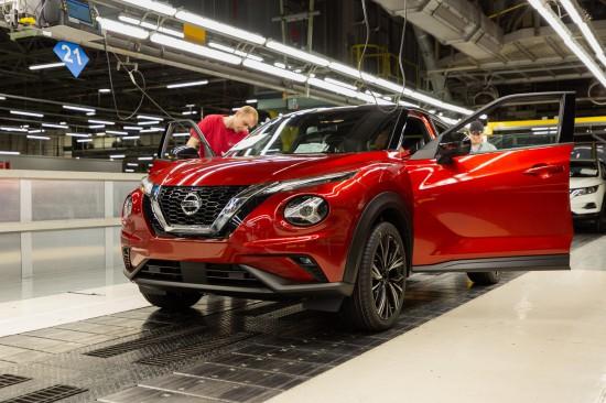 Новия Nissan Juke : Начало на производството