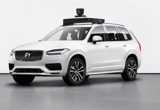 Автономната кола на Volvo и Uber е готова (Видео)