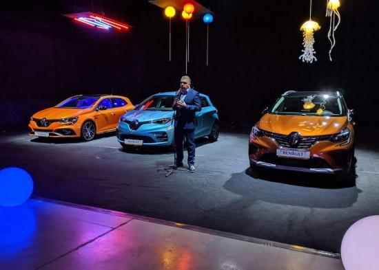 Автосалон София 2019: Renault показа предпремиерно новостите си (Видео)