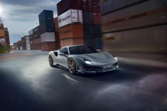 От 0 до 100 км/ч за 2.7 секунди с NOVITEC Ferrari 488 Pista (Видео)