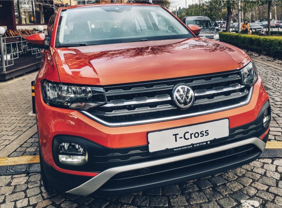 Volkswagen T-Cross с премиера в България (Видео)