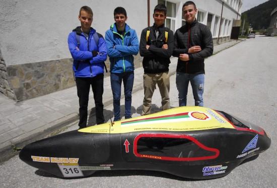 Ученици от Чепеларе ще представят новия си енергийно ефективен автомобил на Shell Eco-marathon Европа 2019