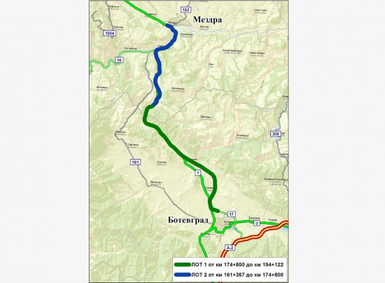 Зелена светлина за реализацията на скоростния път Мездра – Ботевград